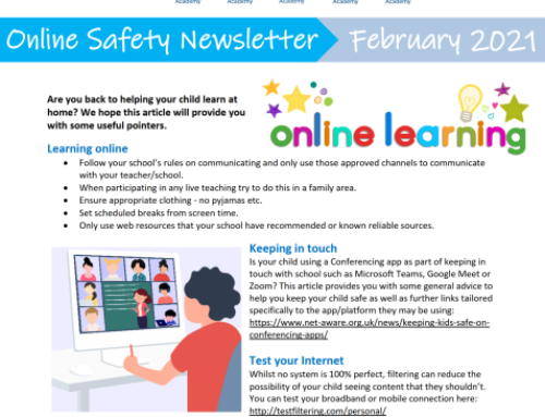 e-Safety Updates