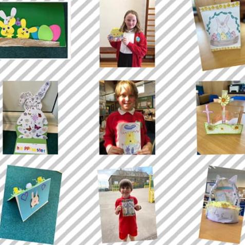 Easter Card Winners!